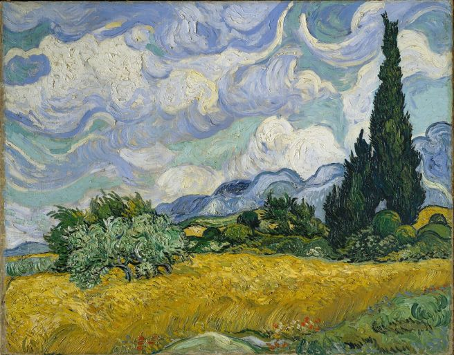 VanGogh-Wheatfield-learn-french-with-stories