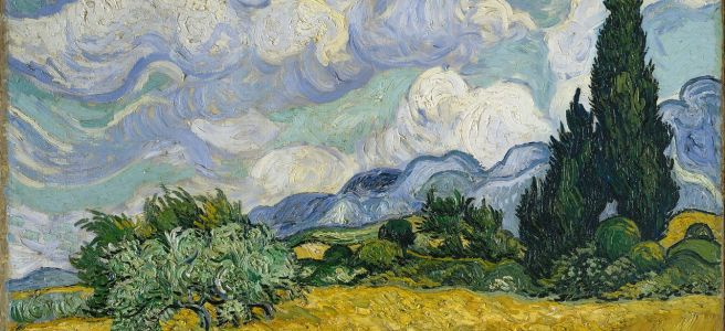 VanGogh-Wheatfield-learn-french-vocabulary-for-free-with-stories